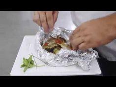 Como fazer um prato delicioso com peixe: Papilote de Saint Petter, assinado pelo Chef Alexandre Vicki, do Plaza São Rafael Hotel, em Porto Alegre. #receita, #peixe, #plaza, #sao rafael