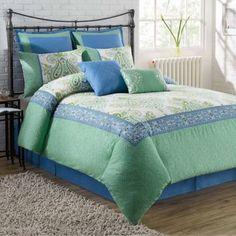Viola 8-Piece Comforter Set - BedBathandBeyond.com