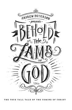 'Behold the Lamb of God' Tour on Behance - Saw the show live last year, great music and a badly needed message for us all.