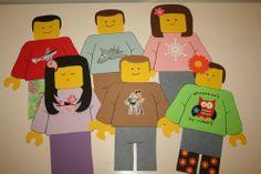 giant Lego Mini-Figure printables