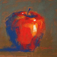 """Apple Study"" - Original Fine Art for Sale - © Barbara Jaenicke"