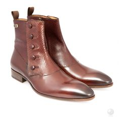 Manufacturing heritage dating back to the Specially hand made buy a select group of cobblers in Portugal. Made with Italian leather Exclusive to Feri Fashion House Andrea Shoes, Silver Tie Clip, Mens Silver Jewelry, Leather Chelsea Boots, Brown Heels, Religious Jewelry, Silver Man, Medium Brown, Cowhide Leather