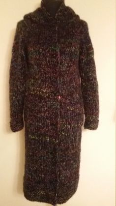 knitted coat knitted cardigan knitted jacket by HandmadeAliona