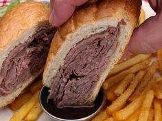 French Dip Sandwiches  #weekendswithdad