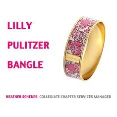 Lilly Pulitzer Bangle love!