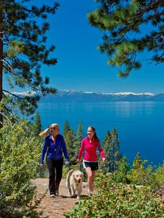My Hubbies favorite place-Hiking in North Lake Tahoe