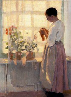 Louis Paul Dessar (1867-1952) - Clotillde, c1893 (via)