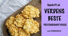 Saftige og sunne proteinrundstykker du lager på kun 15 minutter. De fleste ingrediensene har du kanskje allerede i skapet!
