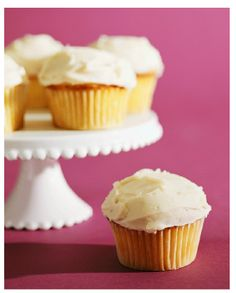 Peach Mascarpone Cupcakes | Cupcakerecepten.nl