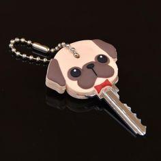 Pug Key Cover Cap