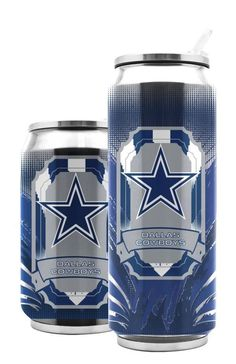 DALLAS COWBOYS 16.9oz STAINLESS STEEL THERMOCAN FROM DUCK HOUSE SPORTS #DuckhouseSports #DallasCowboys