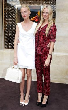 Couple crush // Claire and Virginie Courtin-Clarins