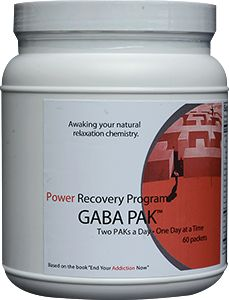 If you often suffer from headaches and are irritable when you go without food for more than four hours, have a history of panicky feelings or prefer alcohol, downers and prescription relaxants, then the GABA Pak may be for you.