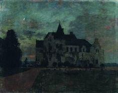 Isaac Levitan - Twilight Castle