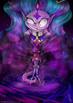 Star Guardian Zoe and Neeko (LoL fanart) by on DeviantArt Lps, Lol League Of Legends, Twilight, Fanart, Dragon, Collage, Deviantart, Stars, Wallpaper