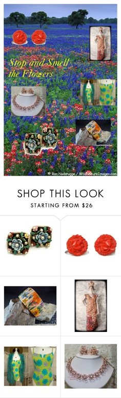 Stop and Smell the Flower at TeamLove on Etsy! by findcharlotte on Polyvore featuring vintage, women's clothing, women's fashion, women, female, woman, misses and juniors