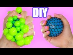 DIY Super Cool Squishy Stress Ball! How to Make The Coolest Stress Ball! - YouTube