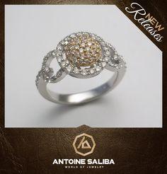 Diamond Ring 18KT Gold Free Shipping