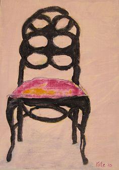 Loop De Loop, Kate Lewis chair art.