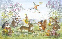 Pixie Circus Art Print - Molly Brett