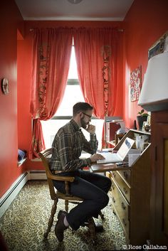 Cator Sparks photographed in his Harlem home by Rose Callahan on Nov 6, 2009  from The Dandy Portraits