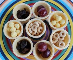 Healthy and fun toddler snack!  Moose Mouse Creations: Everything is Special in an Ice Cream Cone