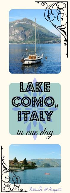 A beautiful photo journal of one day on Lake Como