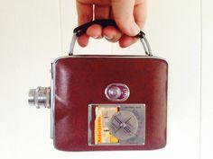 Vintage Video Camera Keystone Olympic 8mm by AmericanProspecting, $18.00