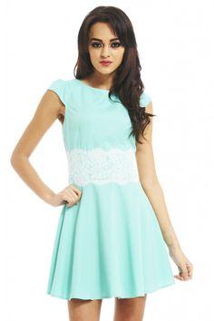 MINT LACE WAIST DRESS shop this look: shopmodmint.com