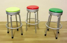 1950s bar stool | ELF Miniatures