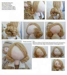 выкройки кукол ручнойц работы   Любовь Сергеева   Идеи и фотоинструкции бесплатно на Постиле