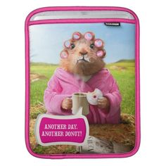 Avanti Press - Morning Groundhog with Breakfast Donut and. Regalos, Gifts. #fundas #sleeves
