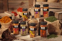 The Spice Hunter's seven high quality spice blends are inspired by Mexican, North African, Indian, and Thai traditions. The rubs are created to be versatile and cater to sensitive and daring palates alike!