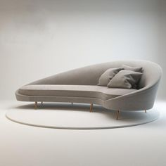 Sofa Bed - Furniture Buying And Caring For Your Home Furnishings Sofa Set Designs, Modern Sofa Designs, Gebogenes Sofa, Sofa Bench, Sofa Furniture, Baxter Furniture, Furniture Design, Modern Furniture, Patio Lounge Chairs