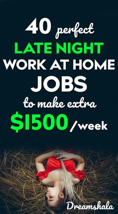 Are you searching for some late night work at home jobs? Here is the list of 50 genuine late night work at home jobs that pays you every day. Check now! Earn Money From Home, Earn Money Online, Online Jobs, Way To Make Money, Earn Money Fast, Hobbies That Make Money, Online Earning, Selling Online, Night Jobs