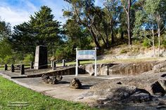 Site of the First Blast Furnace in NSW ##blastfurnace #nsw #ironworks #history #ruins