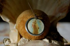 Holy Mother of Mount  Carmel by diddywadiddy on Etsy, $14.00