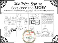 Polar Express Literacy Activities (story sequencing