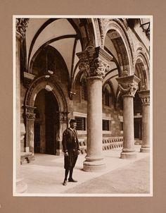 XC2013.04.6_039 European Languages, Austro Hungarian, Photograph Album, World War I, Vacation Destinations, Vienna, Romania, Illusions, Louvre