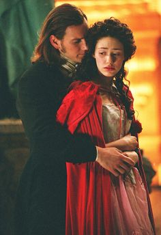 """""""All I Ask of You"""" scene from the 2004 film The Phantom of the Opera. Most beautiful song ever Opera Ghost, Plus Tv, Music Of The Night, All I Ask, Phantom Of The Opera, Phantom 3, Movie Costumes, Classic Movies, Musical Theatre"""