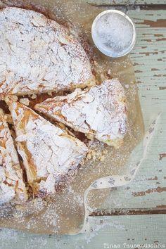 Mandel Ricotta Kuchen! - Tinastausendschön