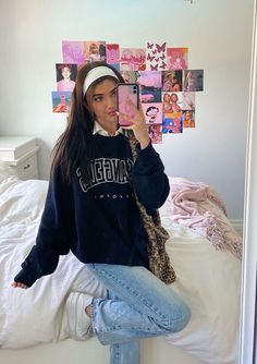 Indie Outfits, Adrette Outfits, Skater Girl Outfits, Teen Fashion Outfits, Retro Outfits, Cute Casual Outfits, Look Fashion, Stylish Outfits, Vintage Outfits