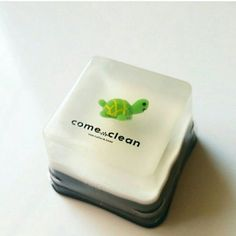 Come Clean Bitty Mini Soap Bars by shopheydoyou on Etsy