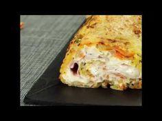 Was für ein dickes Ding! Die Kartoffelpuffer-Rolle mit Frischkäse. Mmh! - YouTube