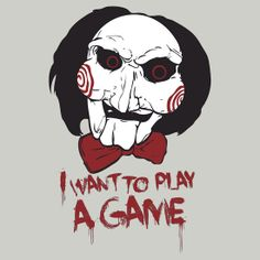 saw movie quotes i want to play a game