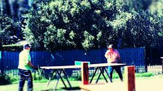 Ping!pong mi pa y mi tio...