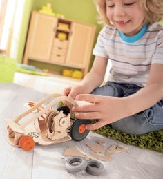 • Automobile kit from Terra Kids • Car model that really moves • Wind-up rubberband propulsion $14.98
