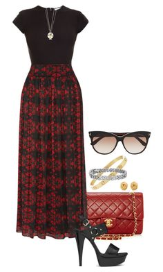 Kamryn. by foreverforbiddenromancefashion on Polyvore featuring Alice + Olivia, Alix, Yves Saint Laurent, Blue Nile, Cartier, Tiffany & Co. and Tom Ford