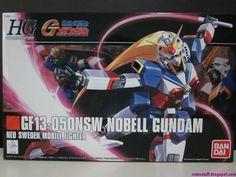 Random Stuff from the East: HGFC 1/144 Nobell Gundam Review - Part 1