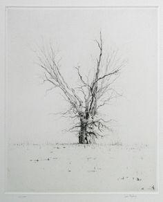 Oak Technique: Dry-point Printer: Lars Nyberg